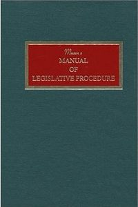 Masons Manual of Legislative Procedure 2000.jpg