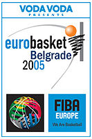 Official logo of the EuroBasket 2005