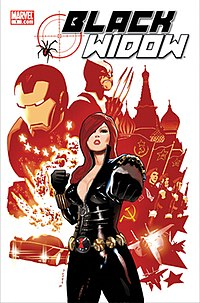 Black Widow #1 (April 2010).