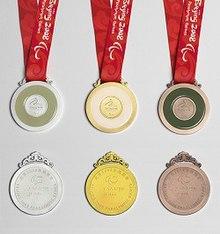 2008年夏季残奥会奖牌榜