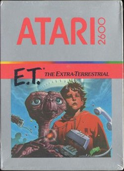 The video game cover of the game