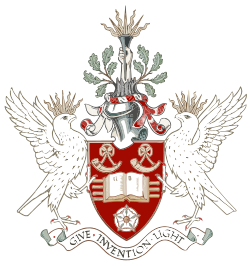 University of Bradford Coat of Arms Alternative 1.svg