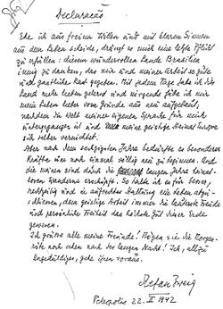Abschiedsbrief Stefan Zweigs Wikisource