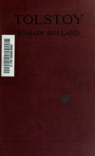 File:Rolland Life of Tolstoy.djvu