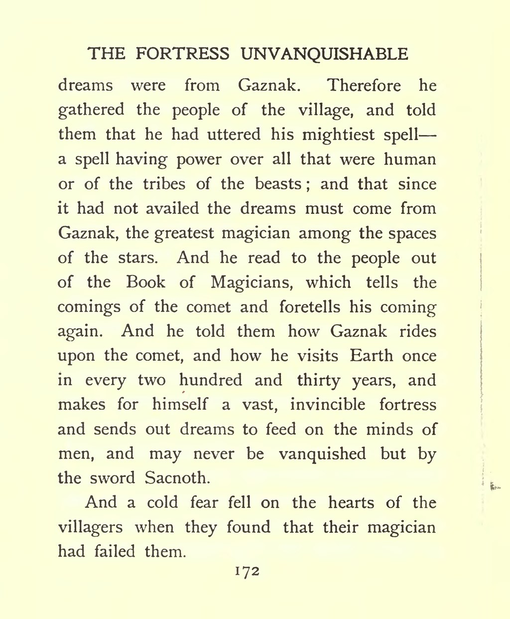 Lord Dunsany On Human Nature