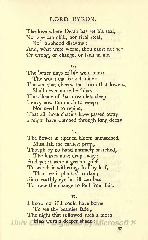 English-language poems