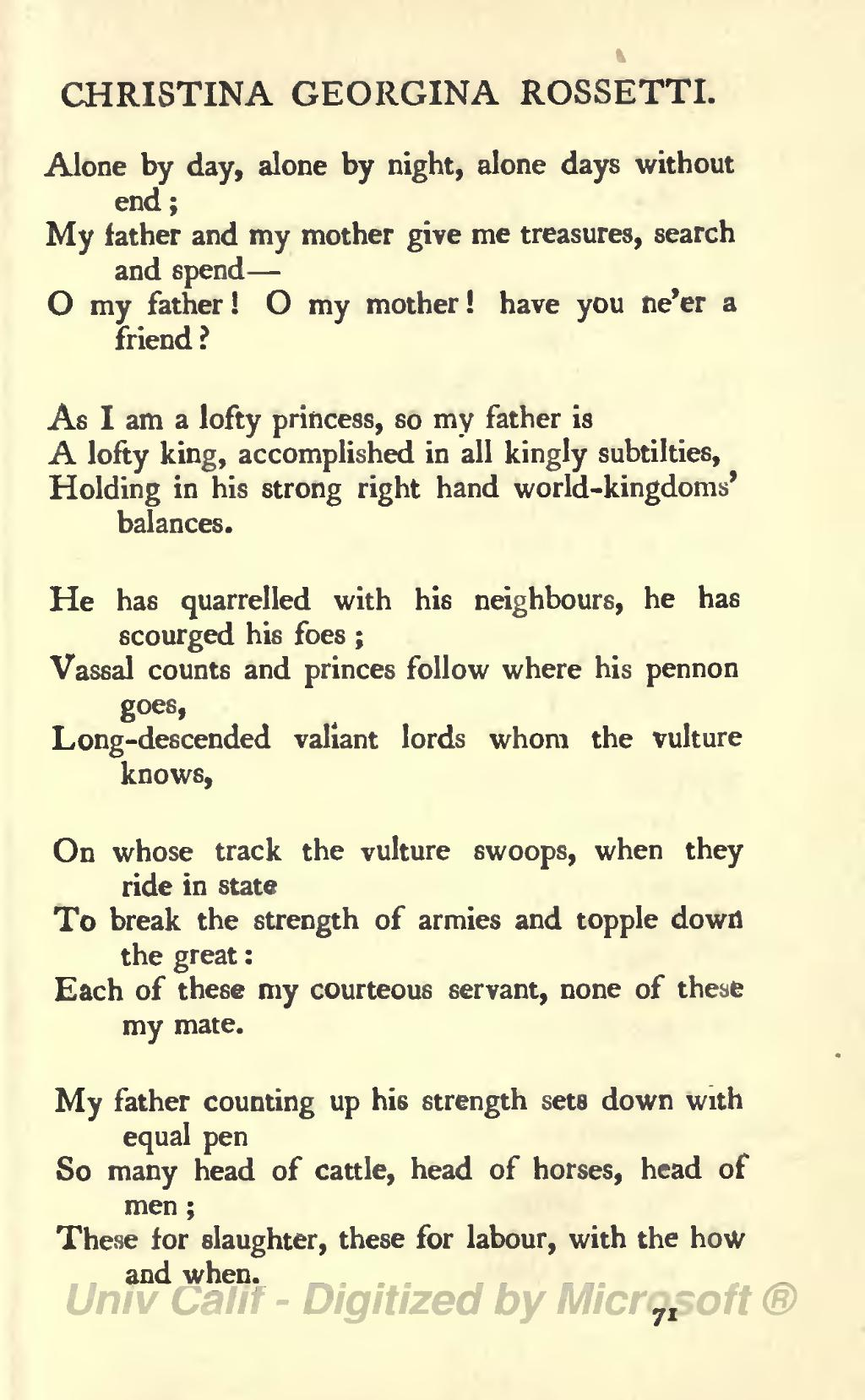 my father my friend poem