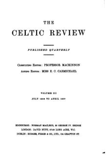 The Celtic Review volume 3.djvu