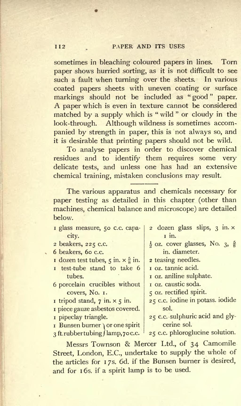 Page:Paper and Its Uses djvu/128 - Wikisource, the free online library
