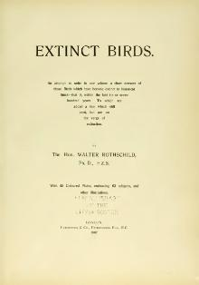 Rothschild Extinct Birds.djvu