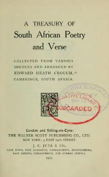 A Treasury of South African Poetry.djvu
