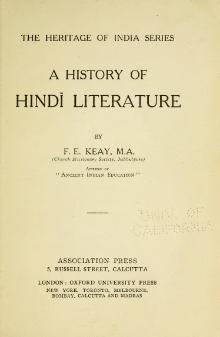 A History of Hindi Literature.djvu