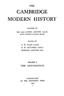 Cambridge Modern History Volume 2.djvu