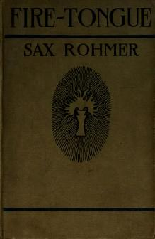 Sax Rohmer - Fire Tongue.djvu