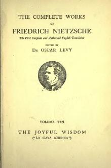 Complete works of Nietzsche vol 10.djvu