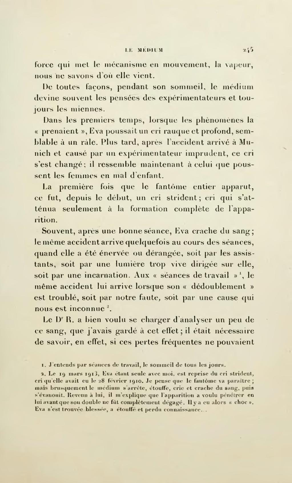 Page Bisson Les Phenomenes Dits De Materialisation Djvu 325