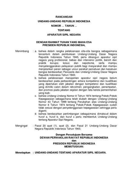Berkas:RUU RUU Tentang Aparatur Sipil Negara.pdf