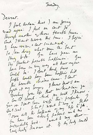 Virginia Woolf's suicide note.jpg