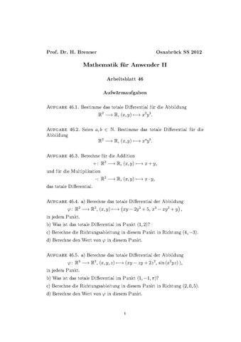 Atemberaubend Mathe Pdf Arbeitsblatt Ideen - Gemischte Übungen ...