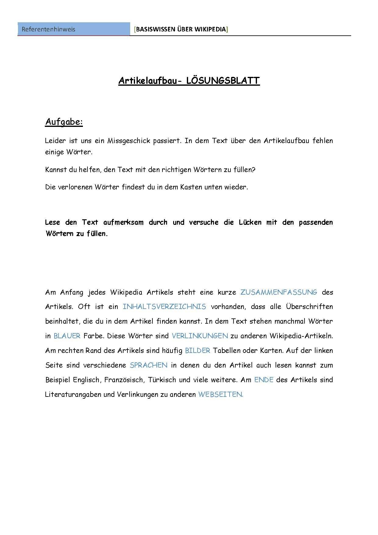 Dateiartikelaufbau Lösungsblattpdf Wikiversity