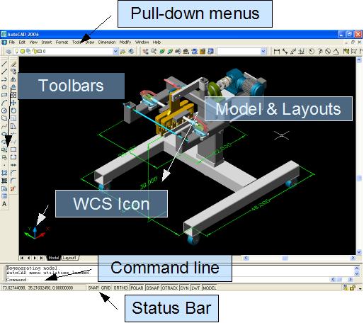 computeraided designautocad introduction wikiversity