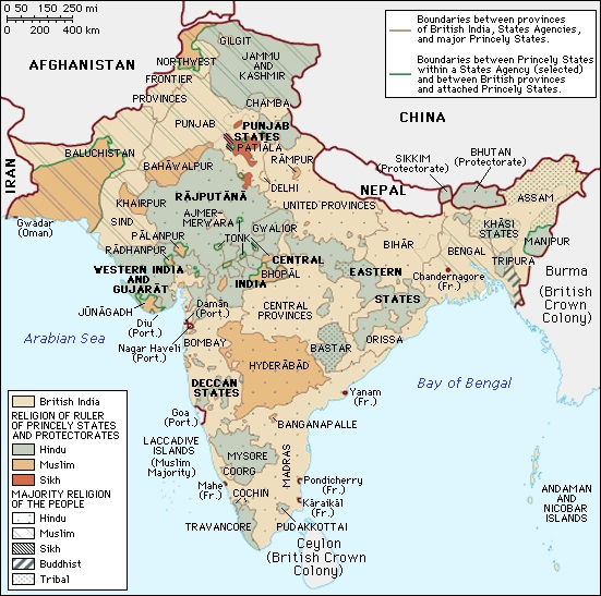 colonization of india The british empire reached its greatest extent after the first world war, by which time it covered one quarter of the earth's surface and governed a similar.