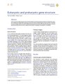Eukaryotic and prokaryotic gene structure.pdf