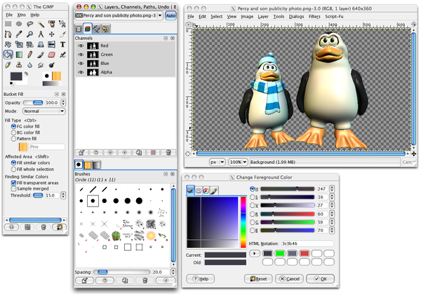 how to download and install gimp on linux