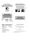 Motivation and Emotion - Lecture 09 - Personality 6slidesperpage.pdf