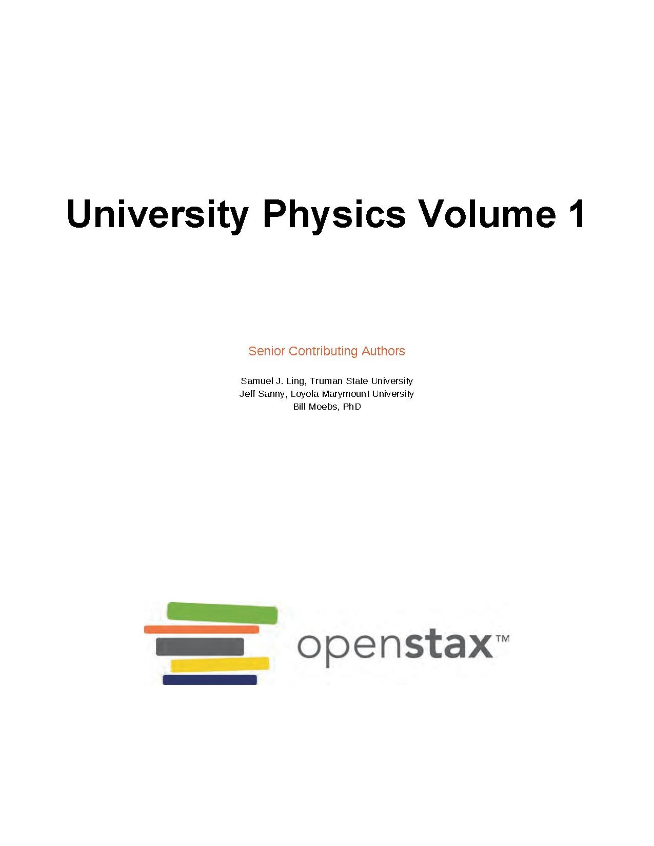 File:Openstax University Physics Volume 1-LR pdf - Wikiversity