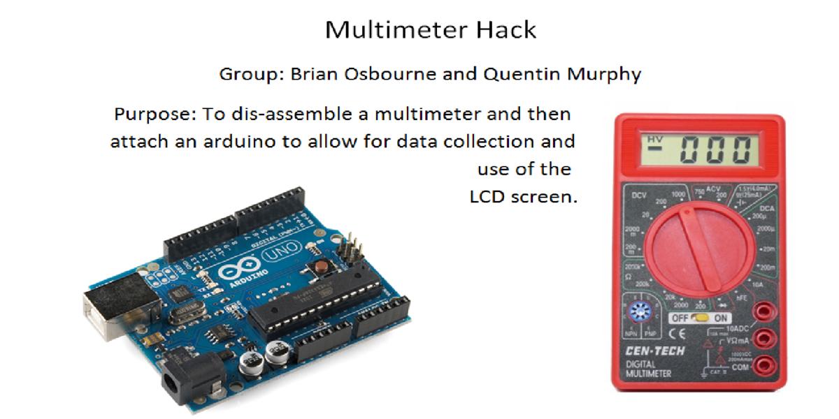 engineering projects  multimeter arduino  howard community