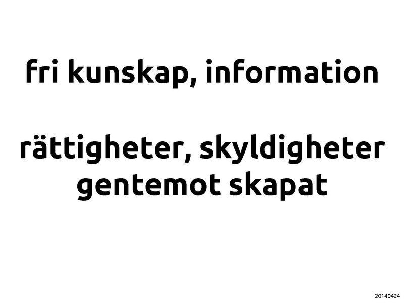 Presentationen som PDF