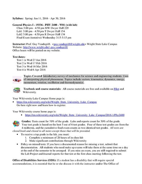 File:WSU Lake Phy 2400 Syllabus.pdf