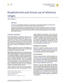 Establishment and clinical use of reference ranges.pdf