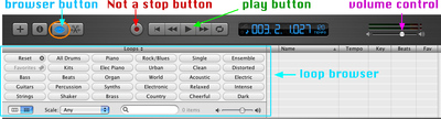 how to stop downloads in garage band