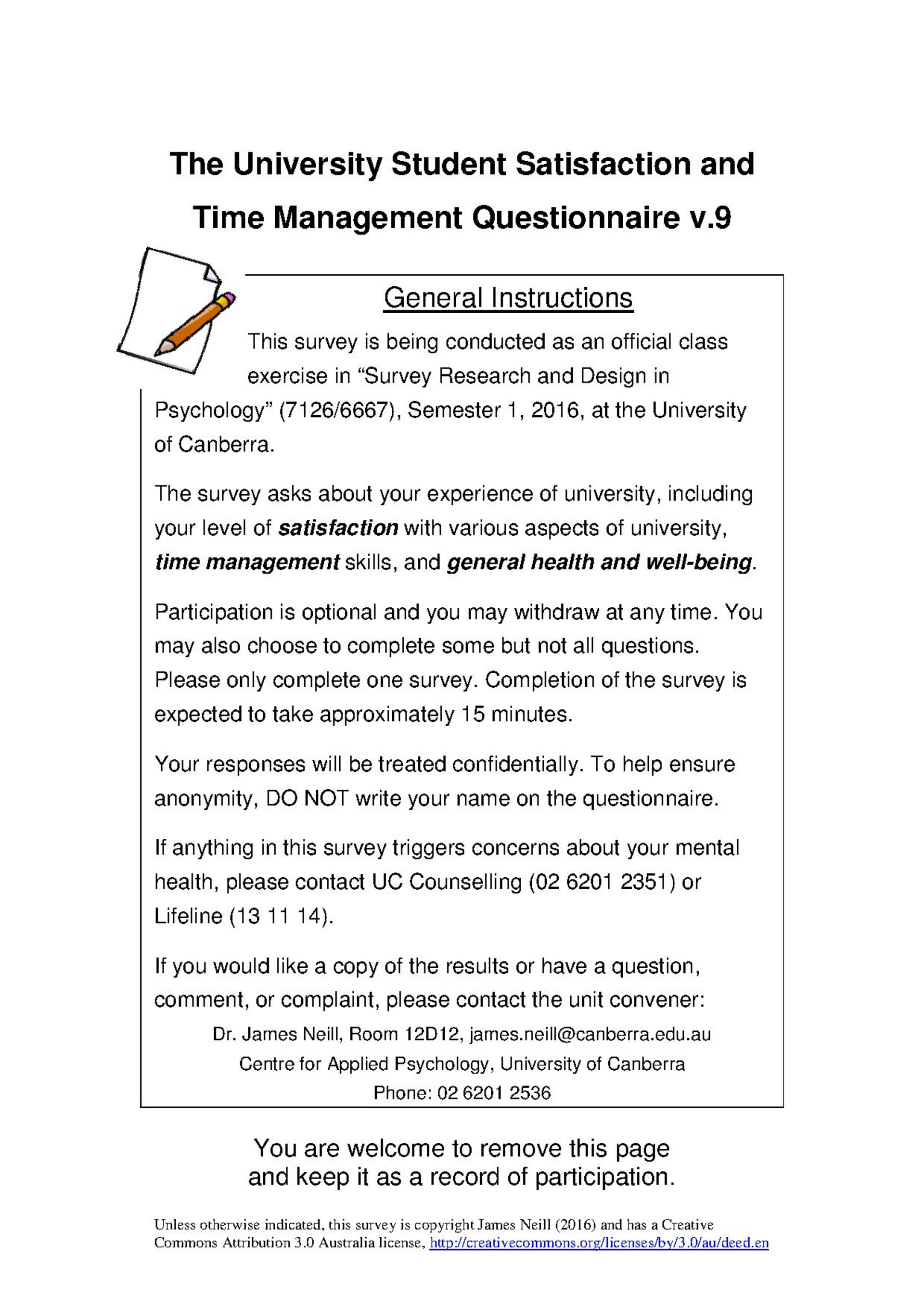 survey research and design in psychologyassessmentsurvey