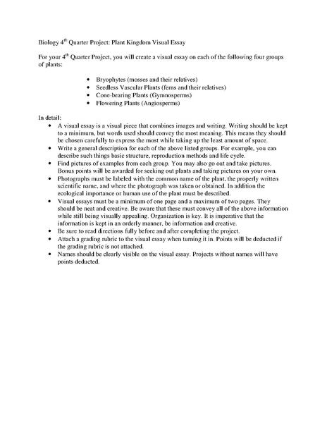 old ap biology essays Free essay: ap biology lab 1 ross lordo introduction questions 1 the solute potential would be -248 if the concentration inside the cell is 15 m, then.