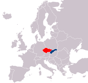 PortalCzech Wikiversity - World map in czech language