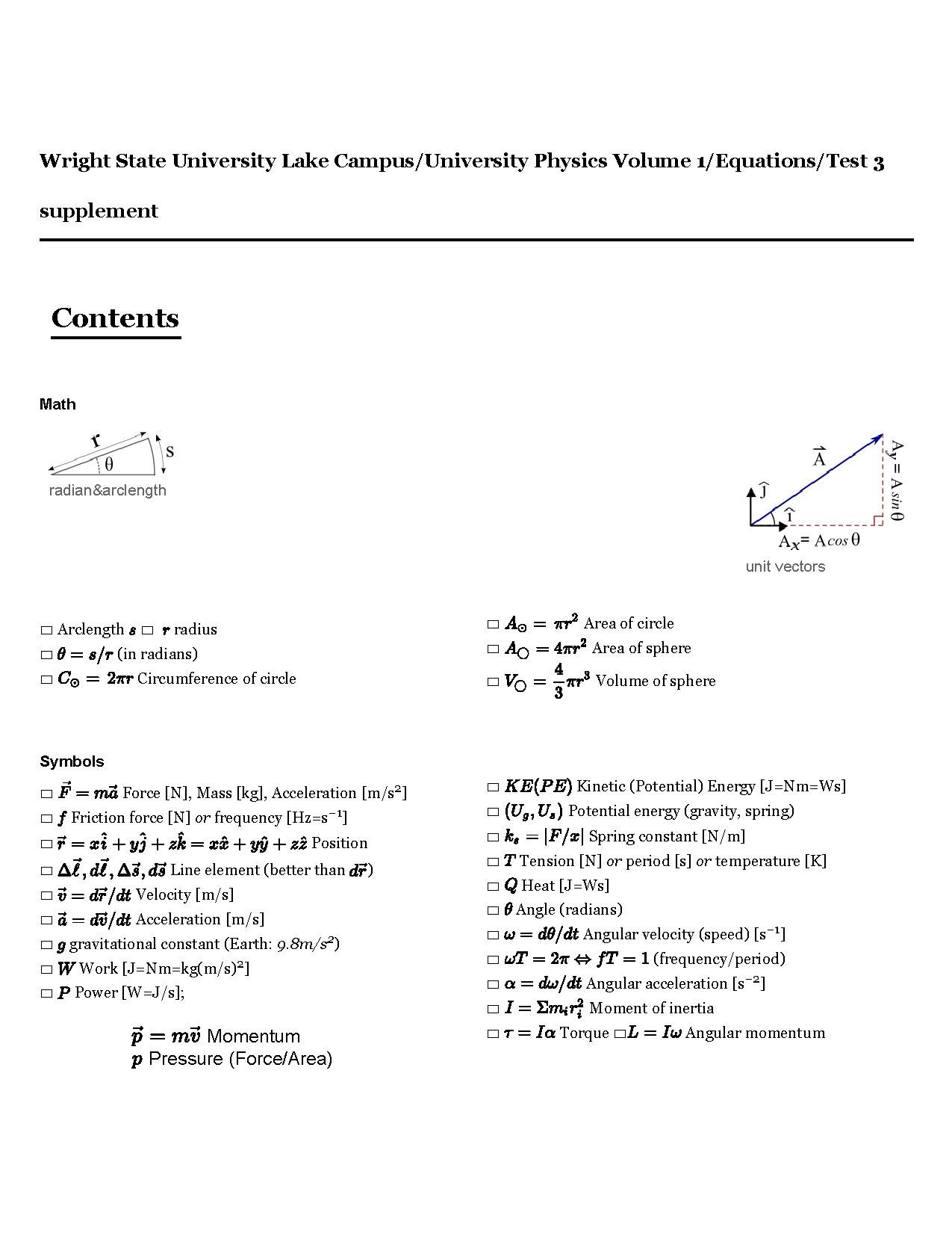 File Phy2400 Test 3 Equation Sheet Pdf Wikiversity