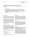Insights into abdominal pregnancy.pdf