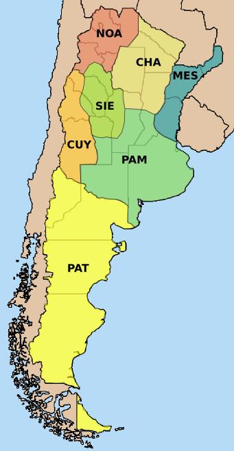 Argentinien Zeitzone