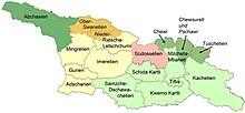 Georgien Karte Regionen.Georgien Reiseführer Auf Wikivoyage
