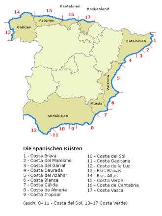 Spanien Regionen Karte.Spanien Reiseführer Auf Wikivoyage