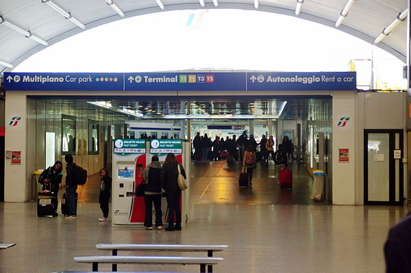 Flughafen Rom-Fiumicino - Reiseführer auf Wikivoyage