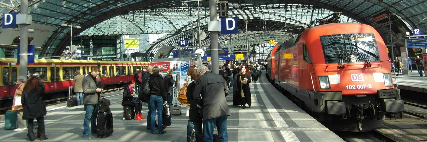 Rail travel in Germany