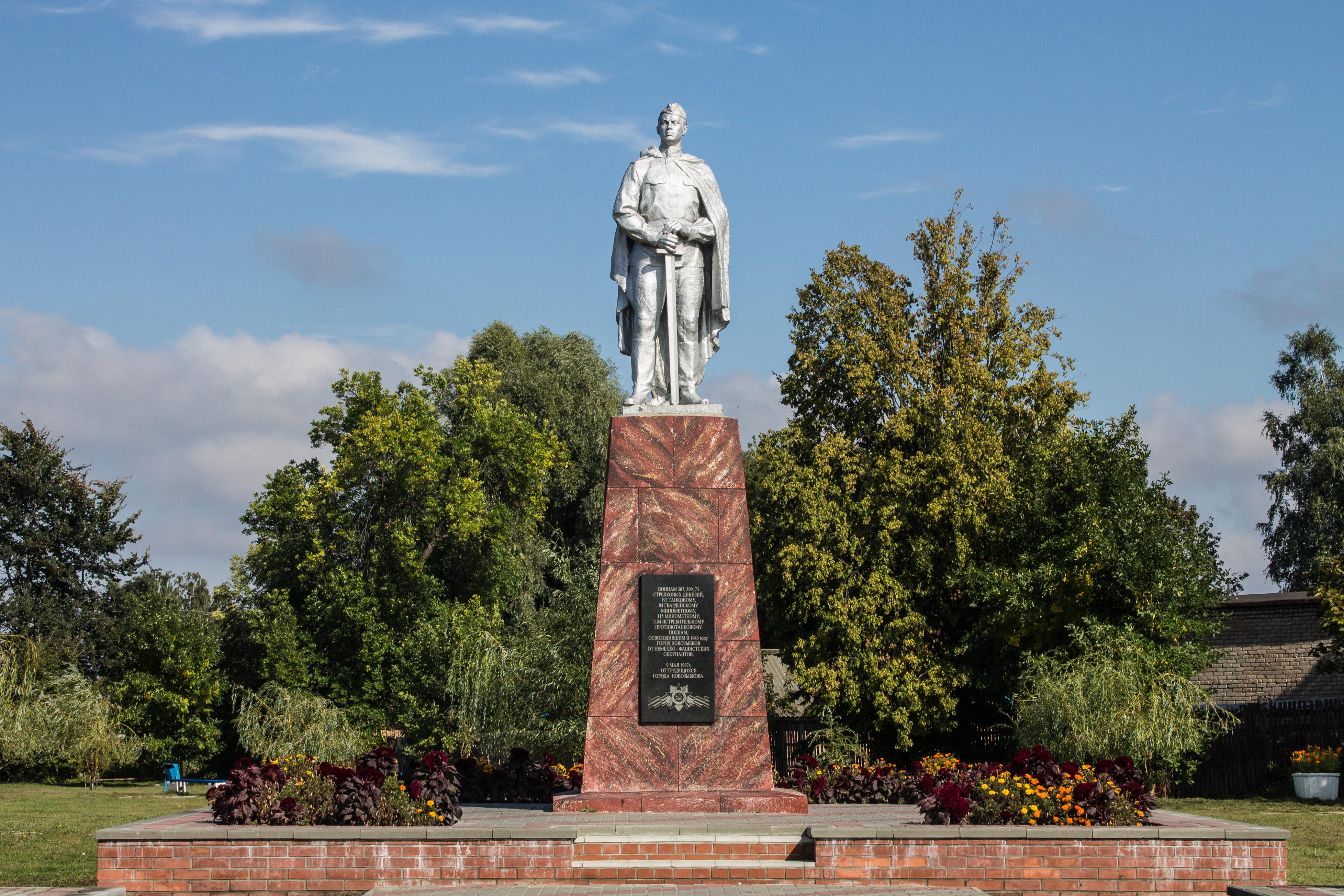 памятники новозыбкова фото и описание цель
